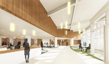 Hfah hospital lobby renovation